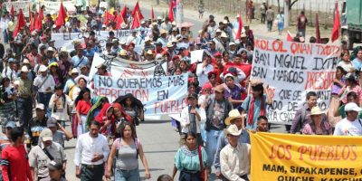 Guatemaltecos preocupados por posible manifestación de hoy
