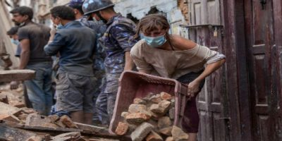 El gobierno ha solicitado ayuda internacional de todo tipo para poder afrontar las tareas de rescate. Foto:Getty Images