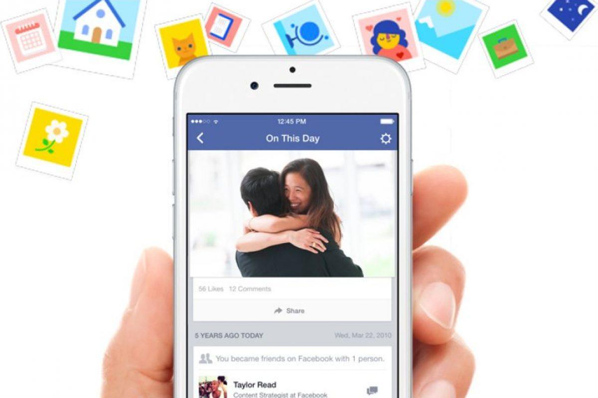 """""""On This Day"""" fue presentada hace poco y se incluye como una de estas novedades de Facebook Foto:Facebook"""