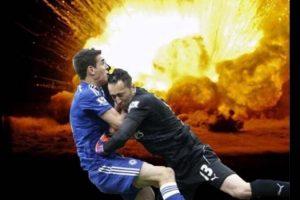 También lo salvó de una explosión… Foto:Vía Twitter.com