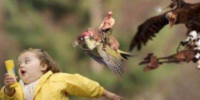 La prohibición de memes con fotos de famosos en Rusia implica que multitud de imágenes de actores como las que usan a Keanu Reeves o a Laurence Fishburne en su papel de Morpheus en Matrix. Foto:vía Twitter