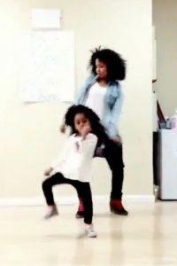 """El baile de """"End of time"""" de Beyoncé la lanzó al estrellato. Foto:Vía Instagram.com/heavenkingdances"""