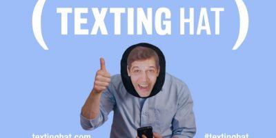 """VIDEO: Esta es la divertida solución para """"textear"""" en todas partes"""