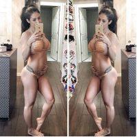 12 semanas de embarazo Foto:instagram.com/bella.falconi/