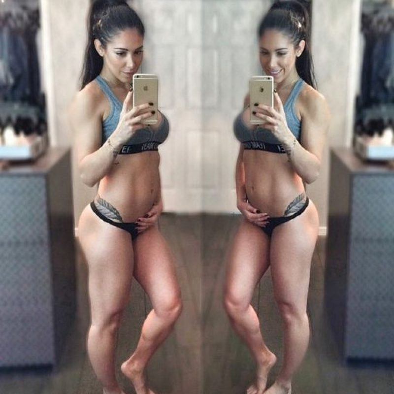 13 semanas de embarazo Foto:instagram.com/bella.falconi/