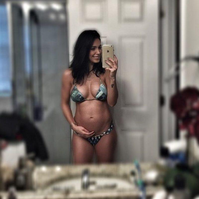 19 semanas de embarazo Foto:instagram.com/bella.falconi/