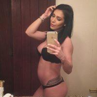 21 semanas de embarazo Foto:instagram.com/bella.falconi/
