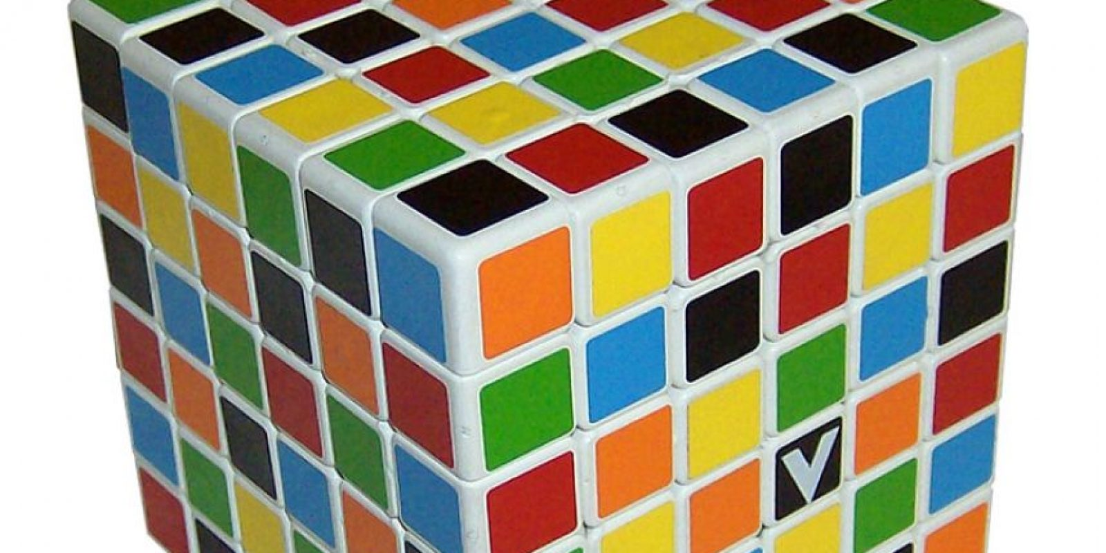 El cubo de 6x6x6 es el más popular después del original 3x3x3 Foto:Wikicommons