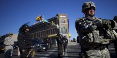 8. 3: son los grupos que, de acuerdo con las autoridades, están detrás de los saqueos y la violencia: Bloods, Crips y Black Guerilla Family, según información de BBC. Foto:AFP