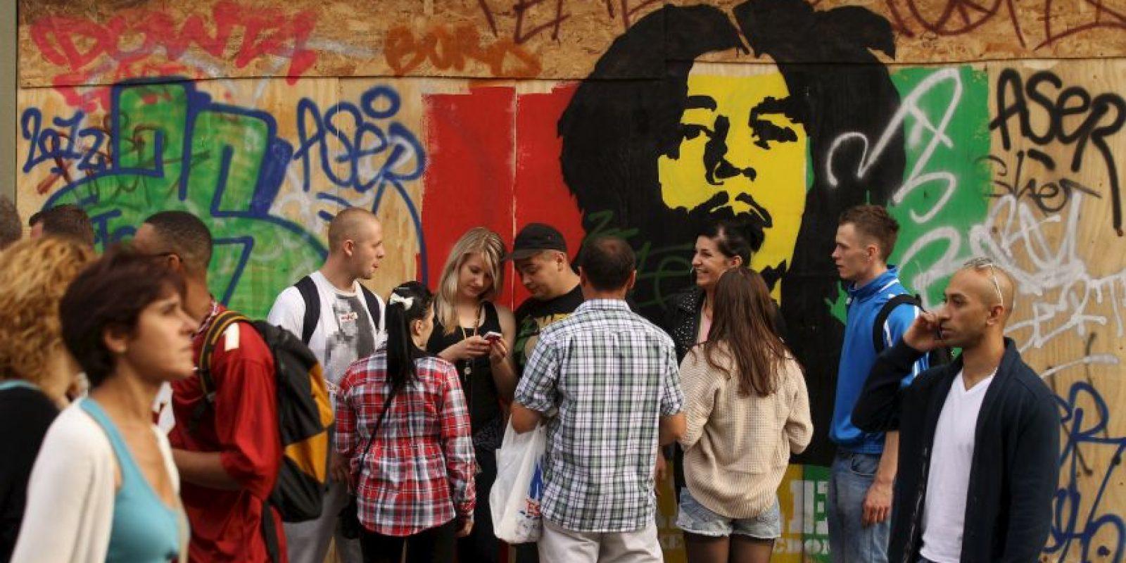 Otro de los cambios que se esperan, es la mayor tolerancia policial, particularmente en barrios como Trench Town, donde vivió Bob Marley, un sitio icónico para los miles de turistas que arriba allí cada año. Foto:Getty Images