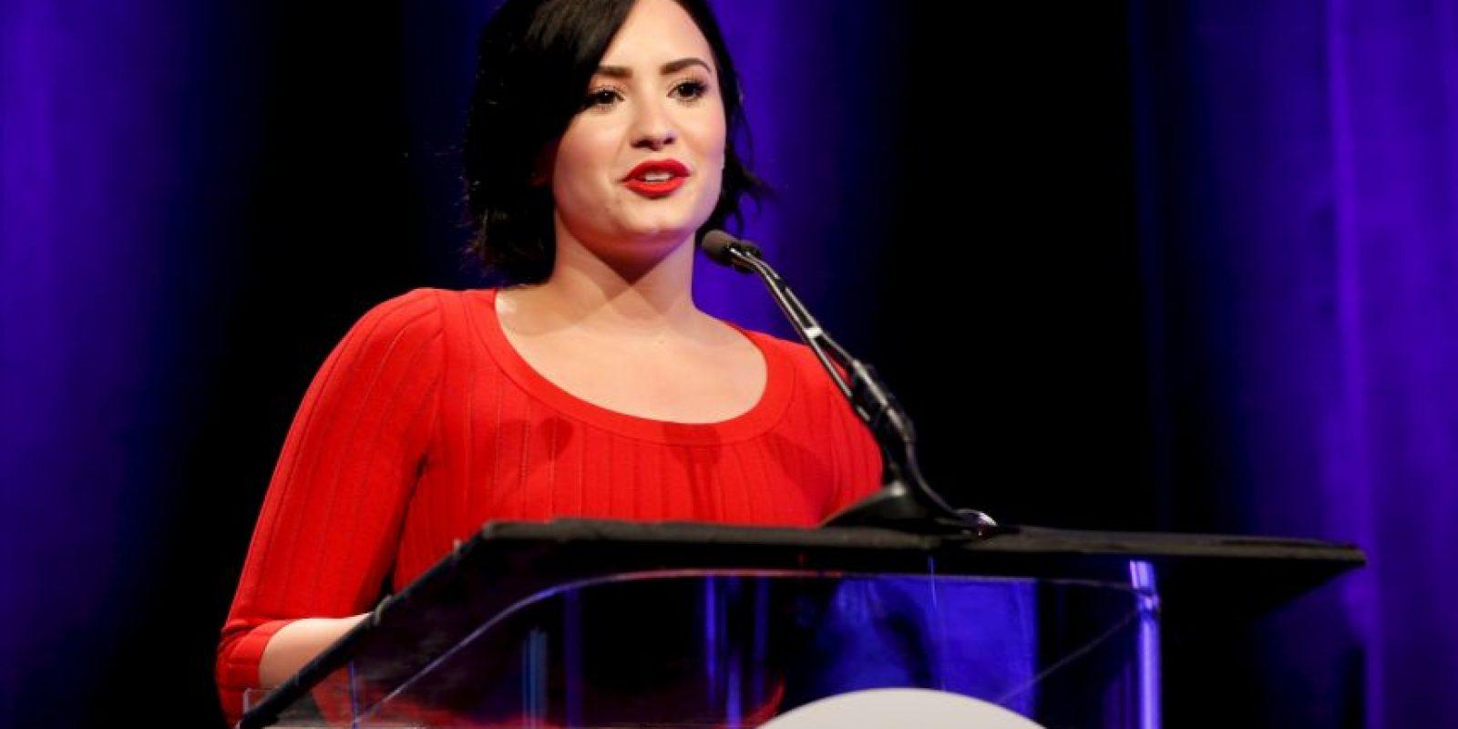 La cantante Demi Lovato Foto:Getty Images