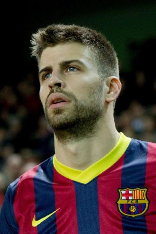 3. Gerard Piqué (Barcelona) Foto:Getty Images