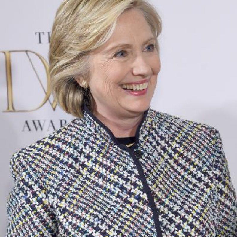 La precandidata presidencial Hillary Clinton publicó: Foto:Getty Images
