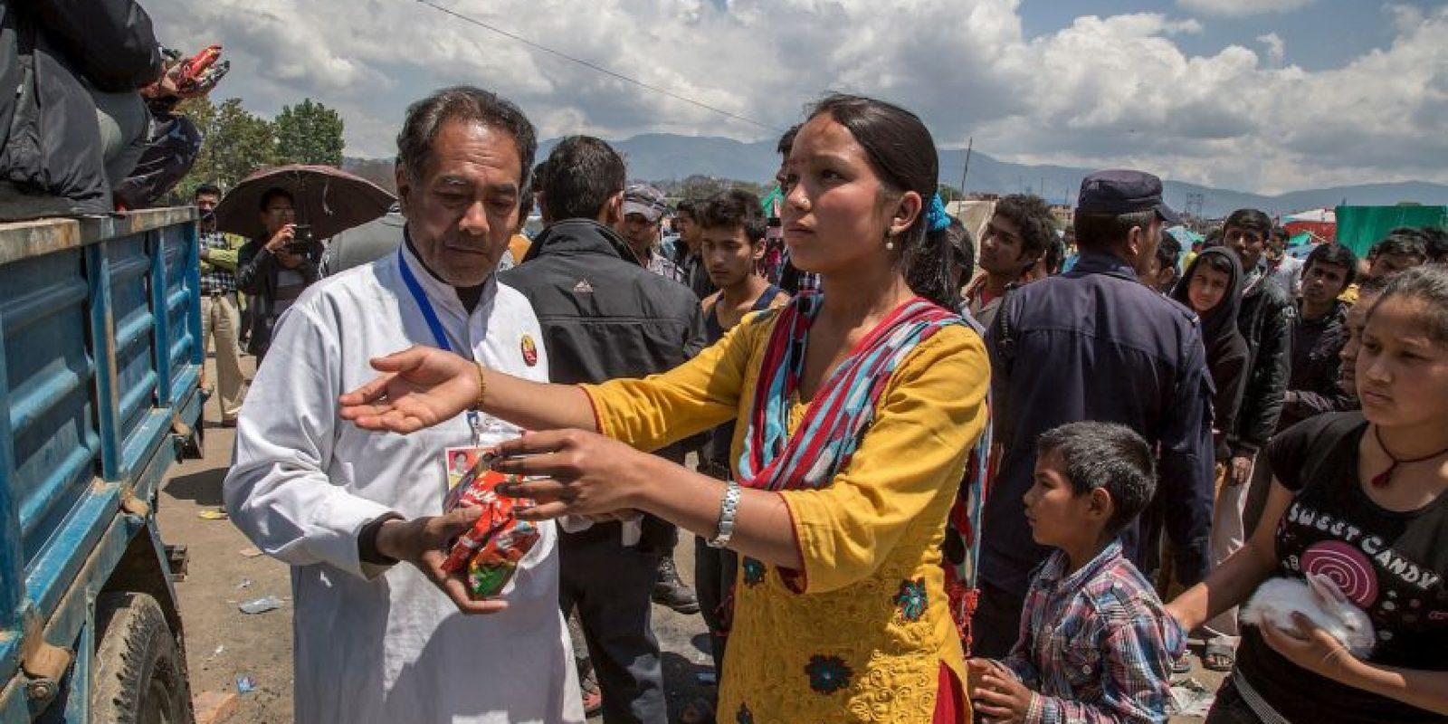 6. El terremoto es el de mayor magnitud en Nepal en los últimos 80 años. Foto:Getty Images
