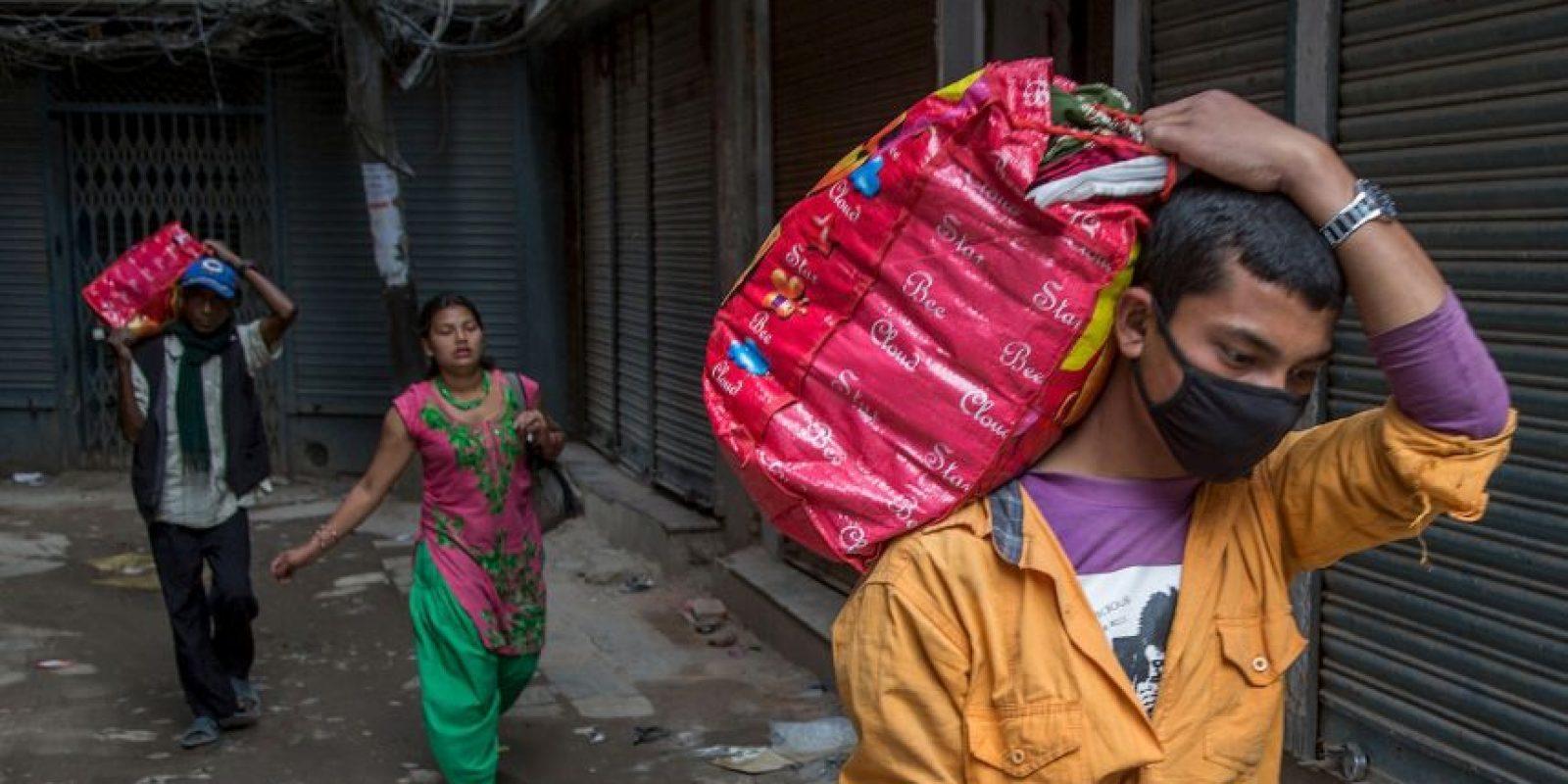8. La ONU estimó que el número de afectados tras el terremoto asciende a ocho millones de personas. Foto:Getty Images