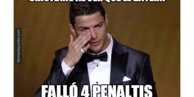 Los memes no se hicieron esperar después de que el Bayern falló cuatro penaltis contra su acérrimo rival. Foto:Publinews
