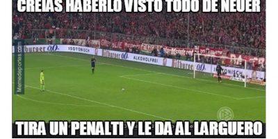 Así se burlan de la derrota del Bayern en penaltis contra el Dortmund