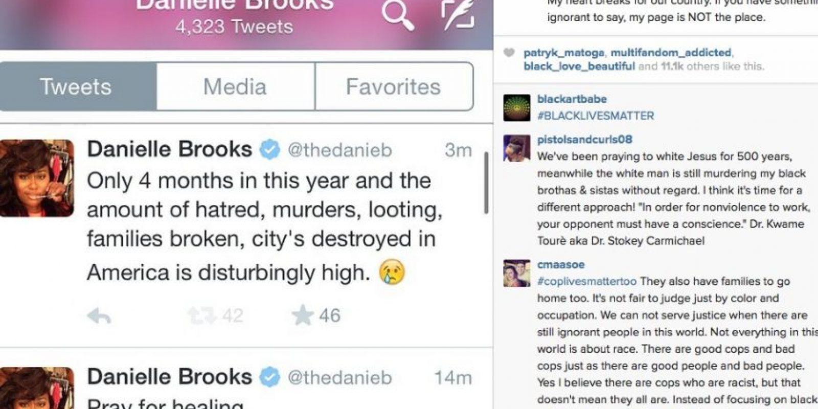 """""""Van solamente cuatro meses del año y la cantidad de asesinatos y familias destruidas es muy alto"""" Foto:Instagram.com/daniebb3"""