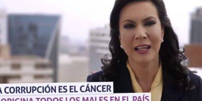 VIDEO. Zury Ríos crítica a estos partidos políticos y le pide a Baldetti que renuncie