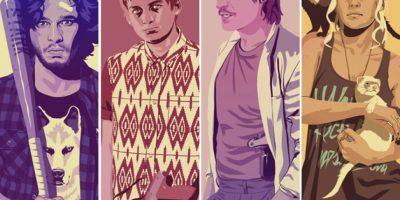 """Personajes de """"Game of Thrones"""" sucumben a la moda de los 90"""