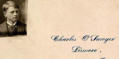 El asesino escocés William Burke mató a 17 personas con un socio, pero él mismo fue ahorcado. Con la piel de su mano izquierda se hizo esta tarjeta. Foto:vía Museo de la Policía de Edimburgo.