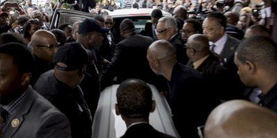 El mandatario dijo que es comprensible que la familia de Freddie Gray quiera saber hasta el final qué ocurrió con su hijo. Foto:AFP