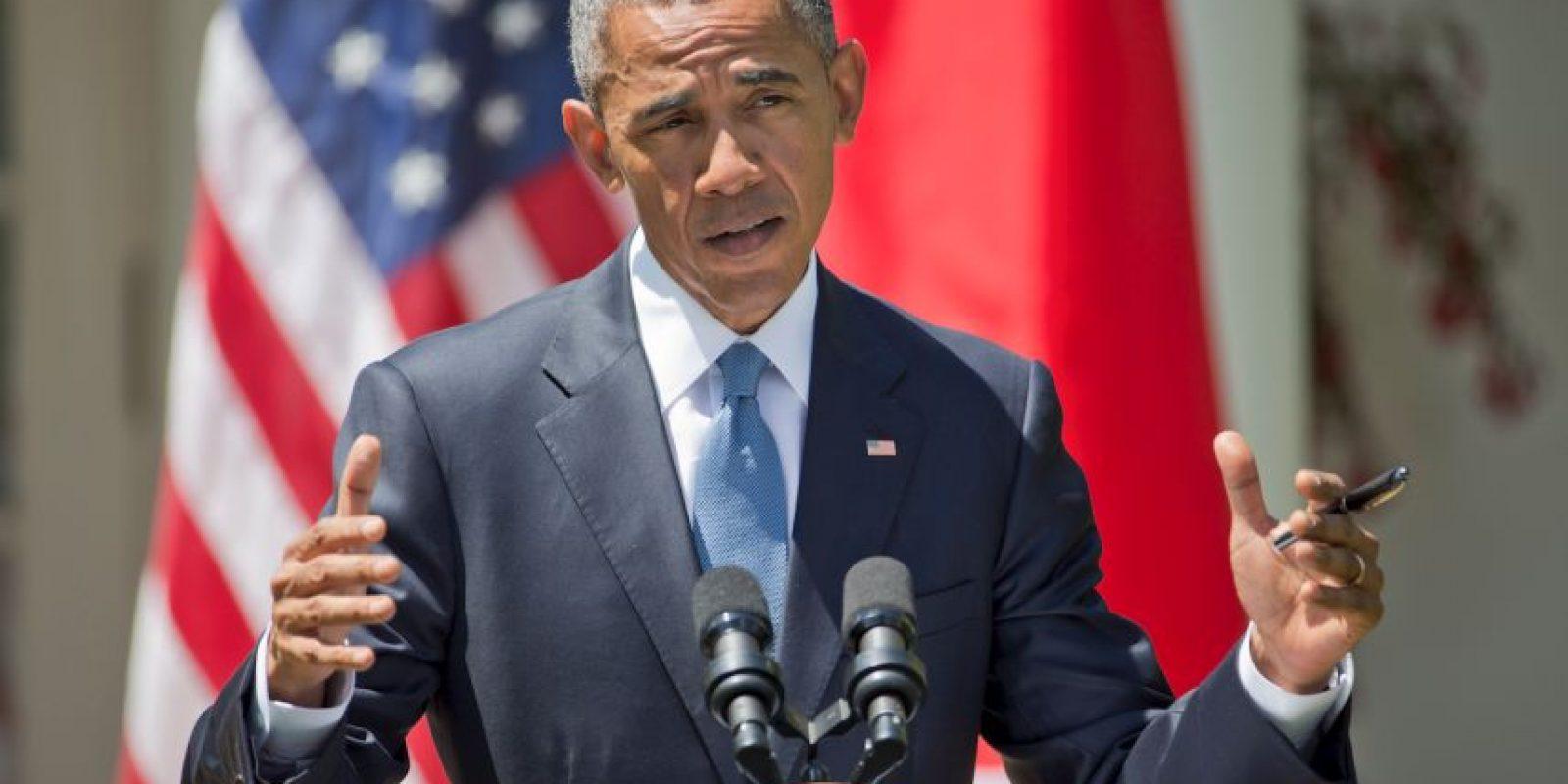 El presidente estadounidense Barack Obama dijo que la muerte de varios negros a manos de policías es una crisis que se desenvuelve lentamente. Foto:AP