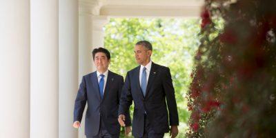 Ambos mandatarios buscan lograr el cierre del Acuerdo de Asociación Transpacífico (TPP), a pesar de la oposición al existente de ambos países. Foto:AP