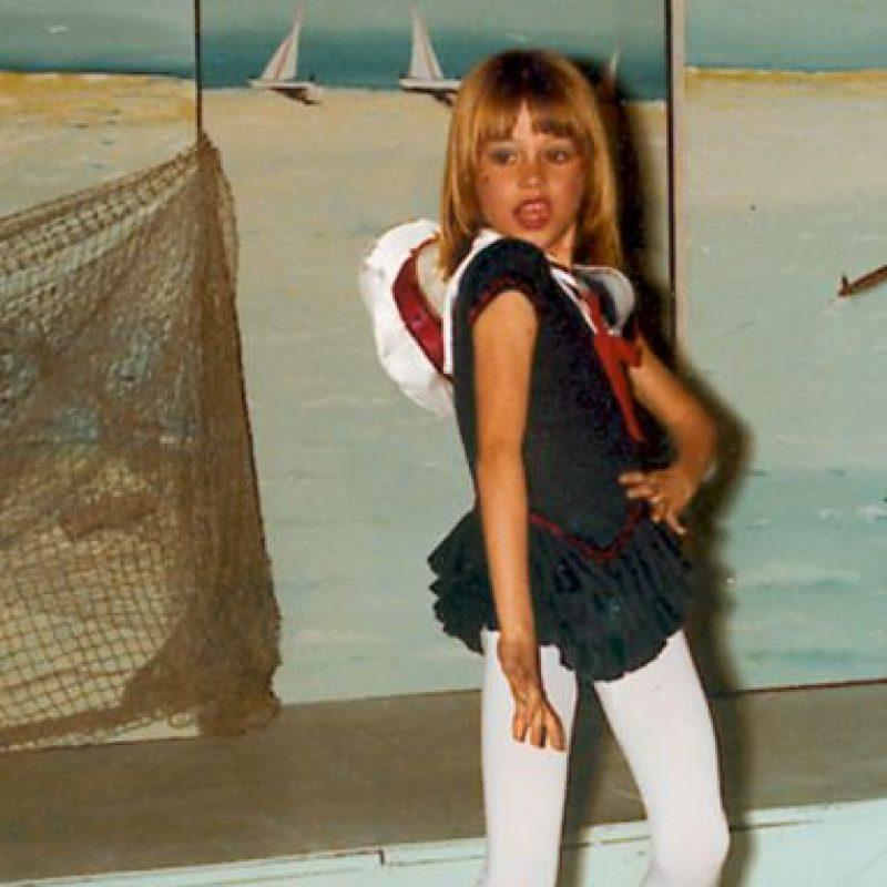 Así era Sofía de niña Foto:Grosby Group