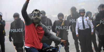 8 números para comprender qué sucedió en Baltimore Foto:AP