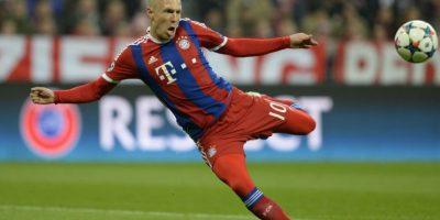 Robben está listo y puede jugar ante el Borussia Dortmund
