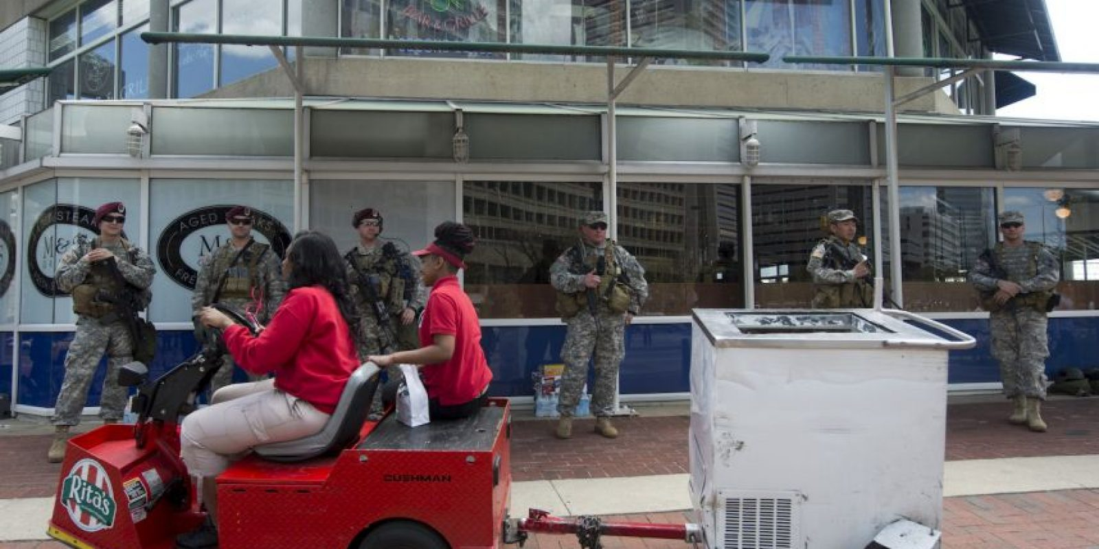 Establecimiento empiezan a ser reabiertos Foto:AFP