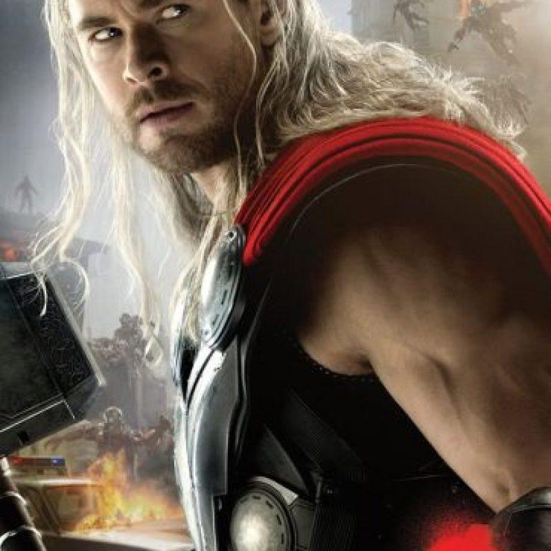 """En 2011 y hasta la fecha, Chris Hemsworth fue el encargado de darle vida al hijo de """"Odin"""". Foto:Vía Facebook.com/avengers"""