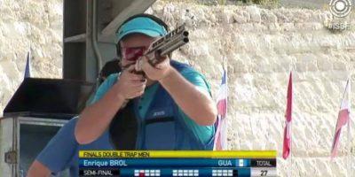 VIDEO. Así fue la participación de Enrique Brol en la Copa del Mundo de tiro