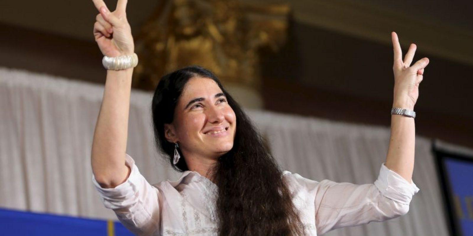 Convirtiéndose en una acérrima detractora del gobierno cubano.. Foto:Getty Images