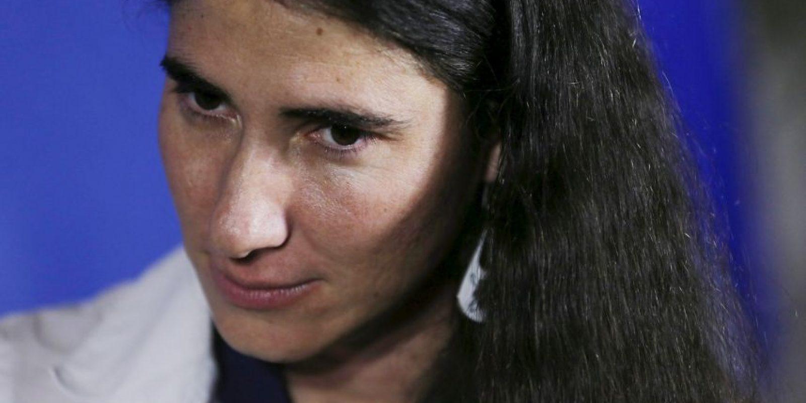 Yoani Sánchez, la famosa bloguera cubana. Foto:Getty Images