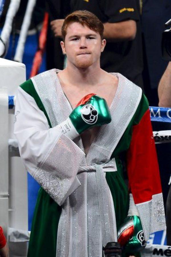 "Saúl ""Canelo"" Álvarez, boxeador mexicano. Foto:Getty Images"