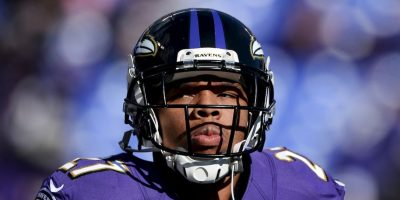 Ray Rice, jugador de la NFL. Foto:Getty Images
