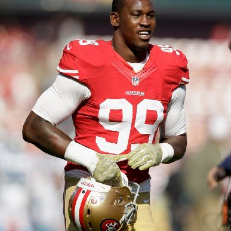 Aldon Smith, jugador de la NFL. Foto:Getty Images