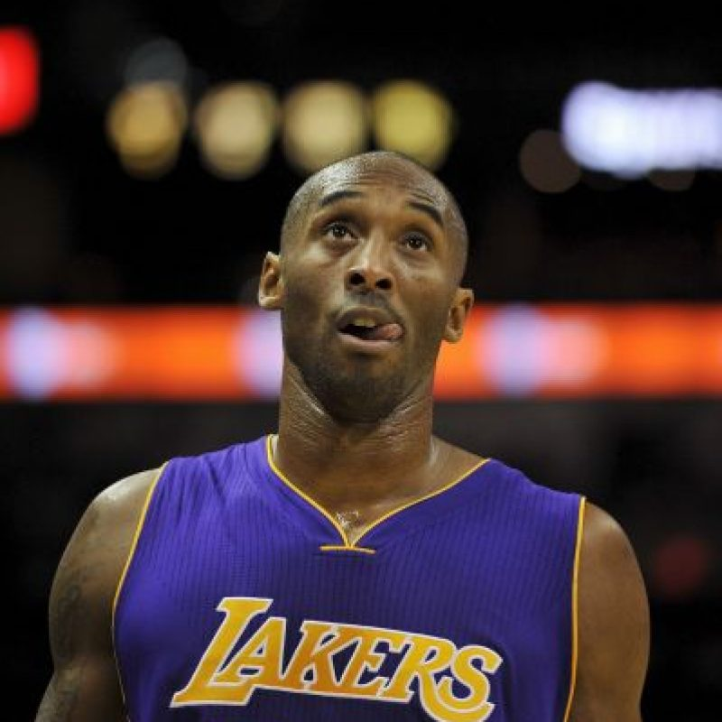 Kobe Bryant, exbasquetbolista estadounidense. Foto:Getty Images