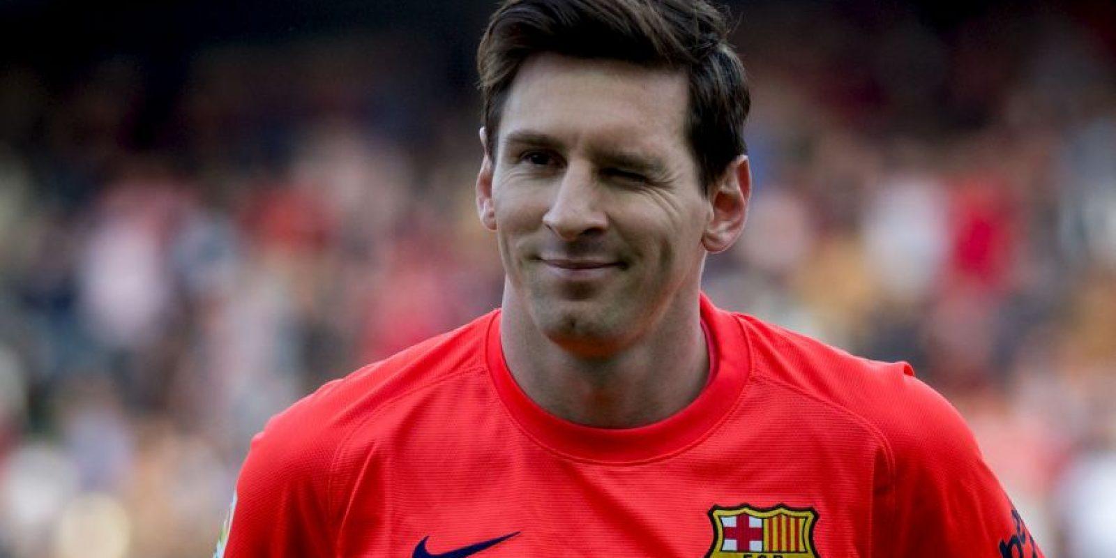 Lionel Messi, futbolista argentino. Foto:Getty Images