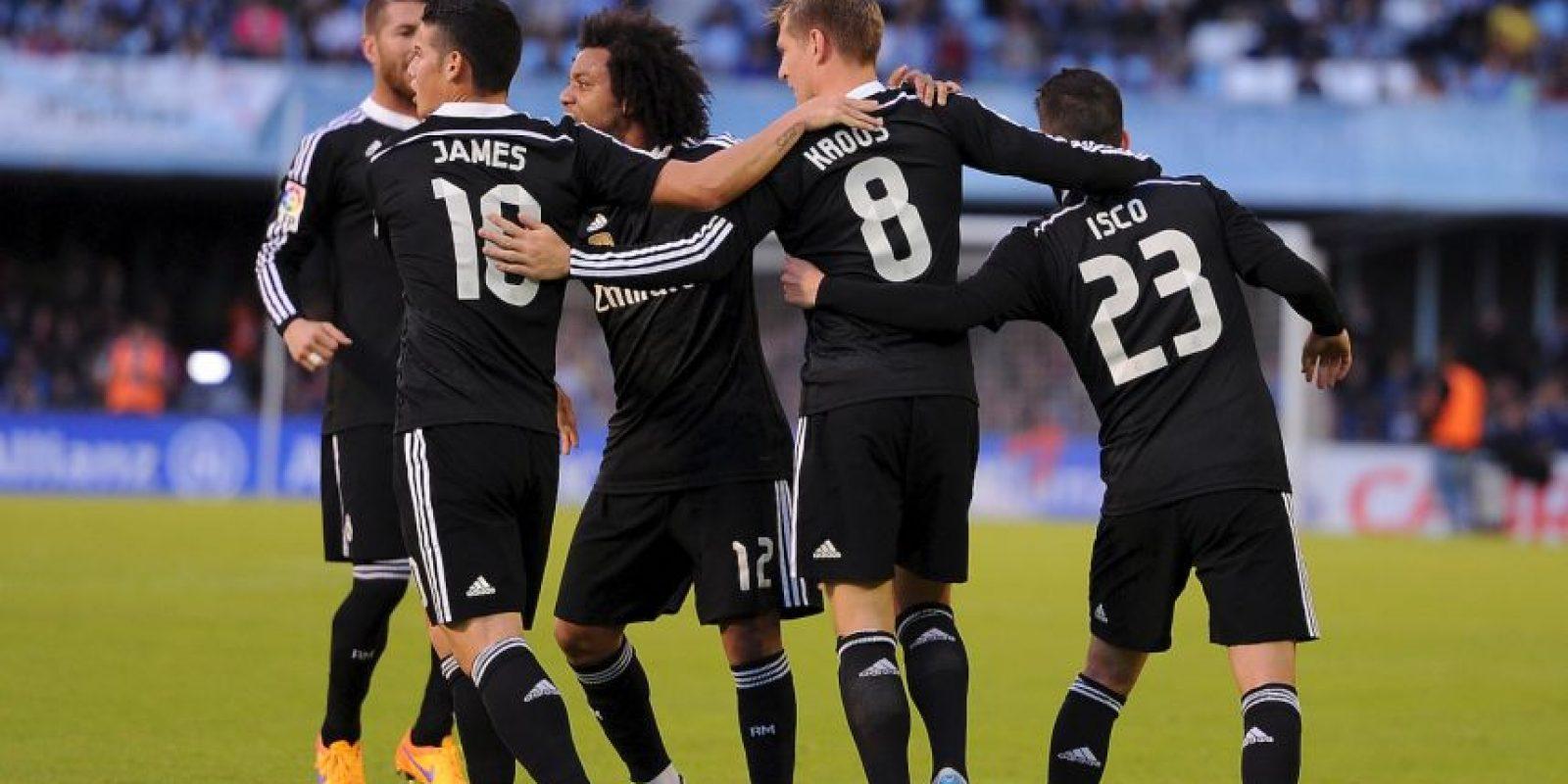 """Los """"merengues"""" aún pelean por el título de la Liga de España Foto:Getty Images"""
