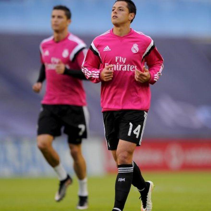 El mexicano Javier Hernández llegó al Real Madrid en septiembre de 2015 a préstamo del Manchester United. Foto:Getty Images