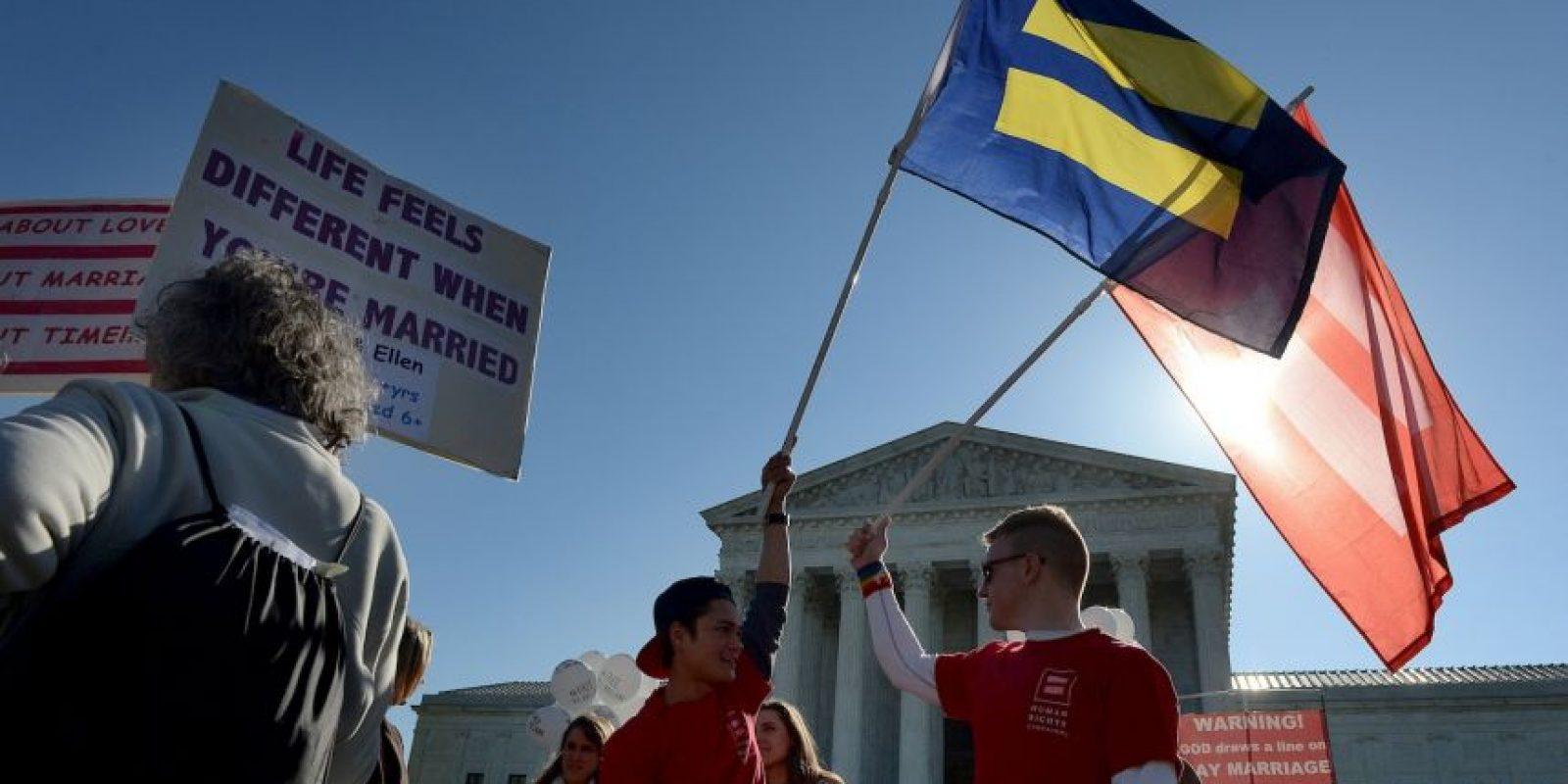 El juez clave en el Tribunal Supremo de Estados Unidos en la controversia sobre el matrimonio homosexual, Anthony Kennedy, hizo preguntas escépticas a las diversas partes durante la revisión del caso. Foto:Getty Images
