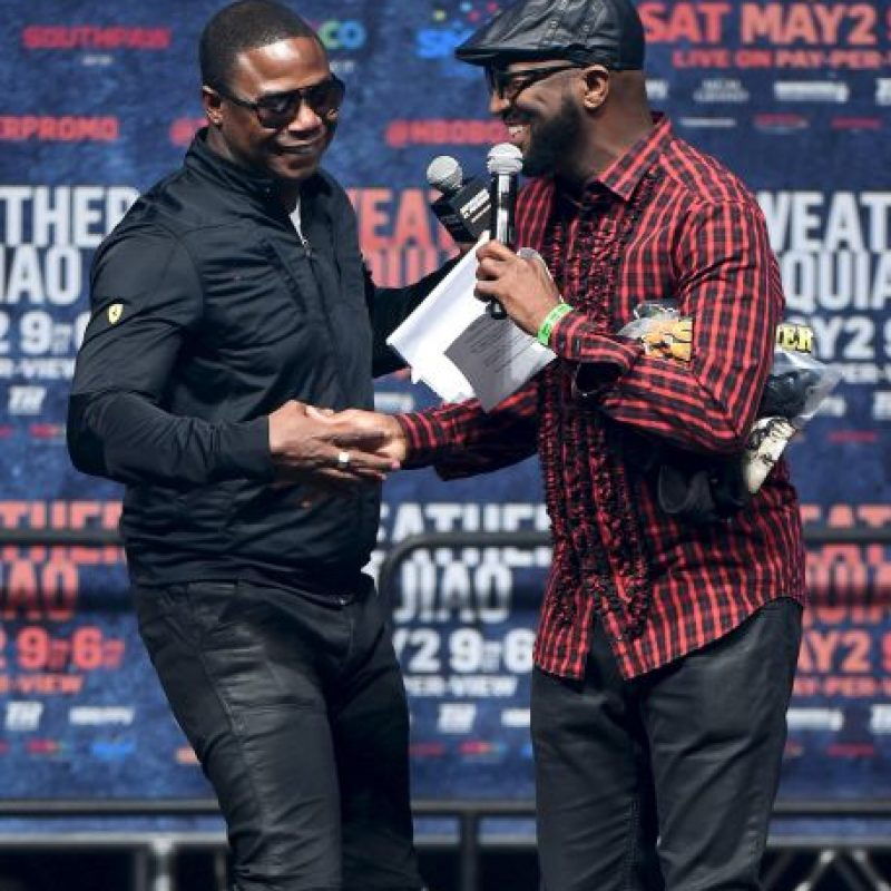 "El rapero Doug E. Fresh y el comediantes Ricky Smiley presentaron a ""Money"" Foto: Getty Images"