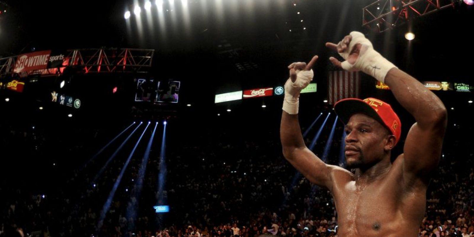 De estos, 120 millones serían para Mayweather y 80 para Pacquiao, aunque podrían ser más de acuerdo con el éxito de ventas de la pelea. Foto:Getty Images