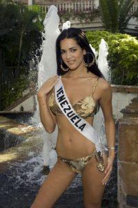 Fue la ganadora del concursoMiss Venezuela 2004 Foto:Getty Images
