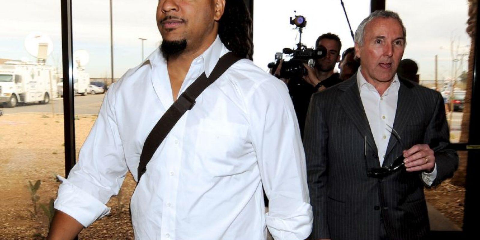 En 2011, el toletero golpeó a su esposa Juliana y fue encarcelado durante una noche en Fourt Lauderdale, Florida; pero tras pagar 2 mil 500 dólares de multa, salió en libertad. Foto:Getty Images