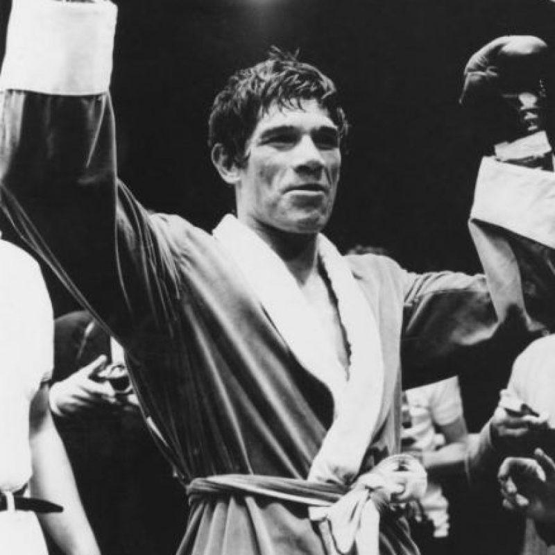 Carlos Monzón, exboxeador argentino. Foto:Getty Images