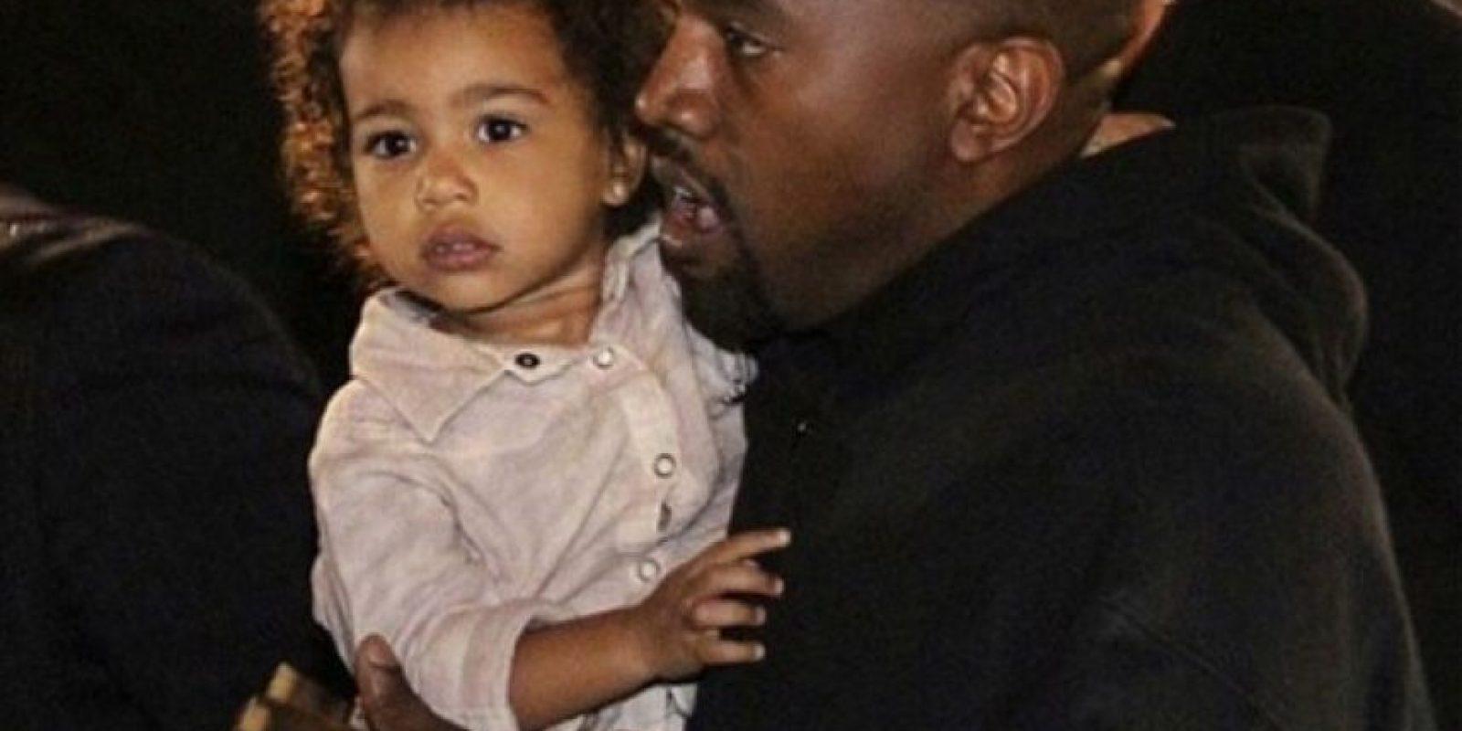 El rapero ha destacado por ser un padre amoroso Foto:Instagram/KimKardashian